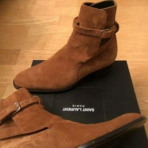 Rare color ysl Chelsea boots